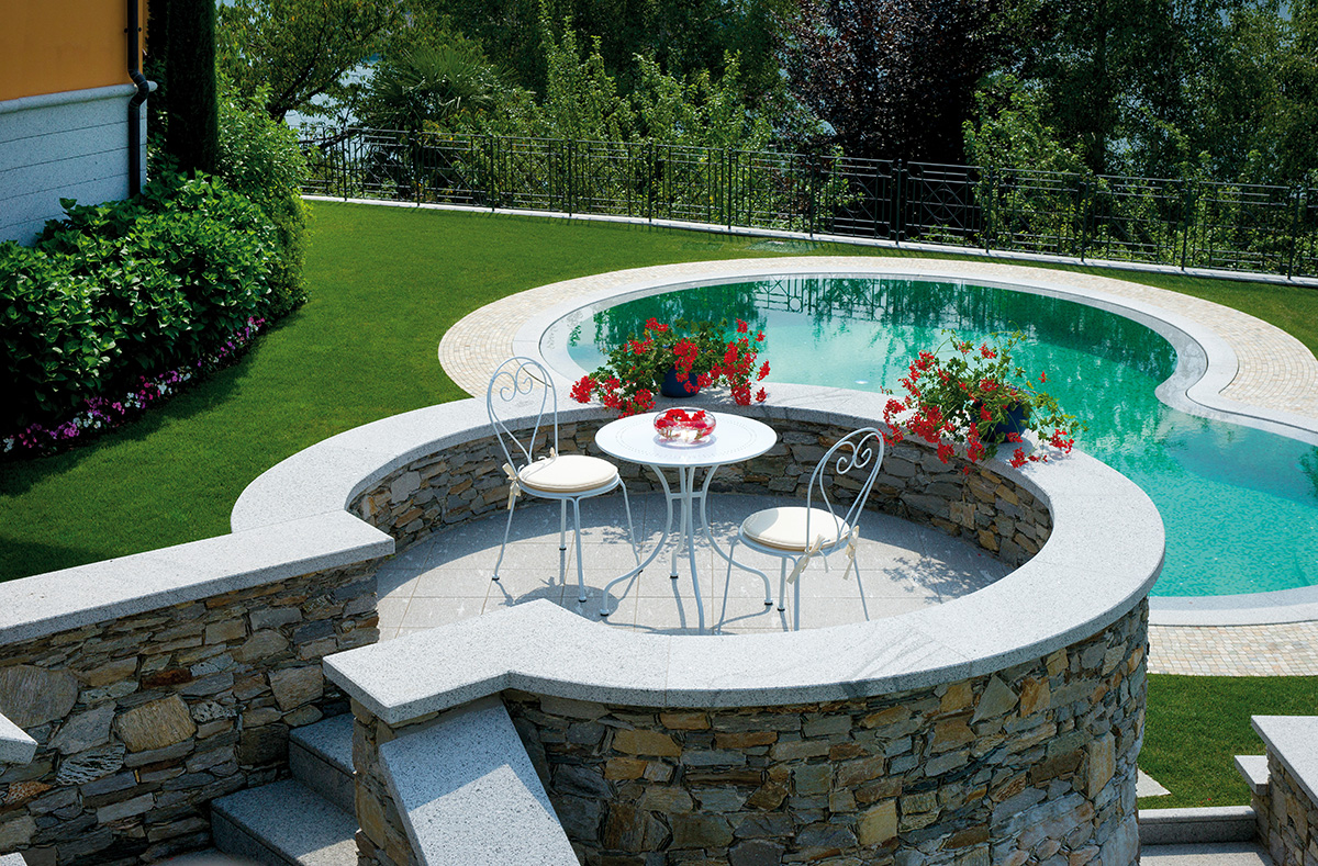 Ambientazione chf80ttf82cs14 greenwood mobili da giardino for Tavoli e ombrelloni da giardino