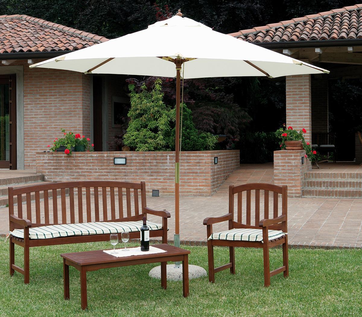 Ambientazione e4000 greenwood mobili da giardino for Ambientazioni salotti