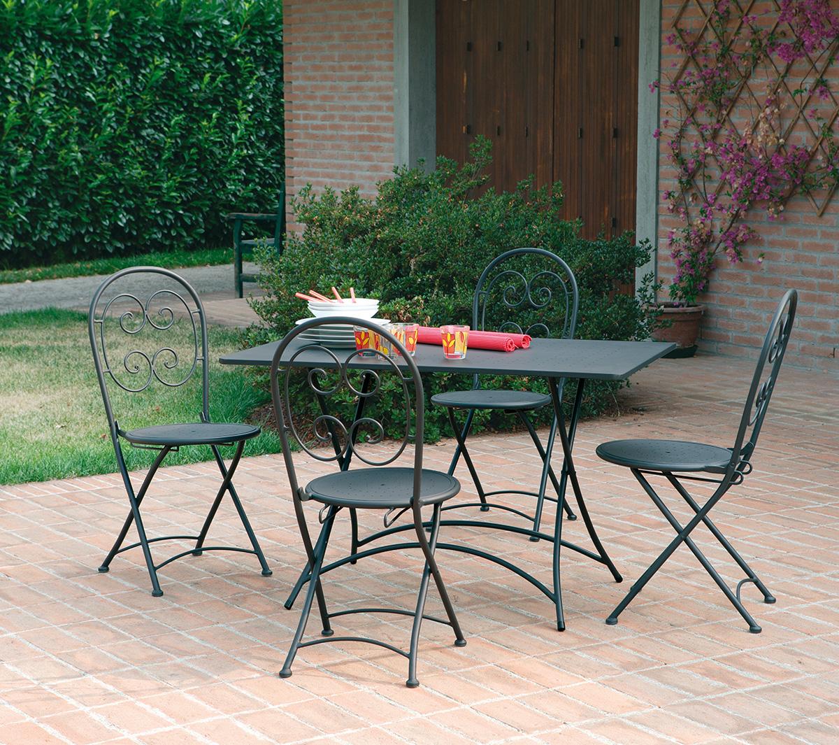 Mobili giardino ferro battuto : Mobili da giardino garden team ~ mobilia la tua casa