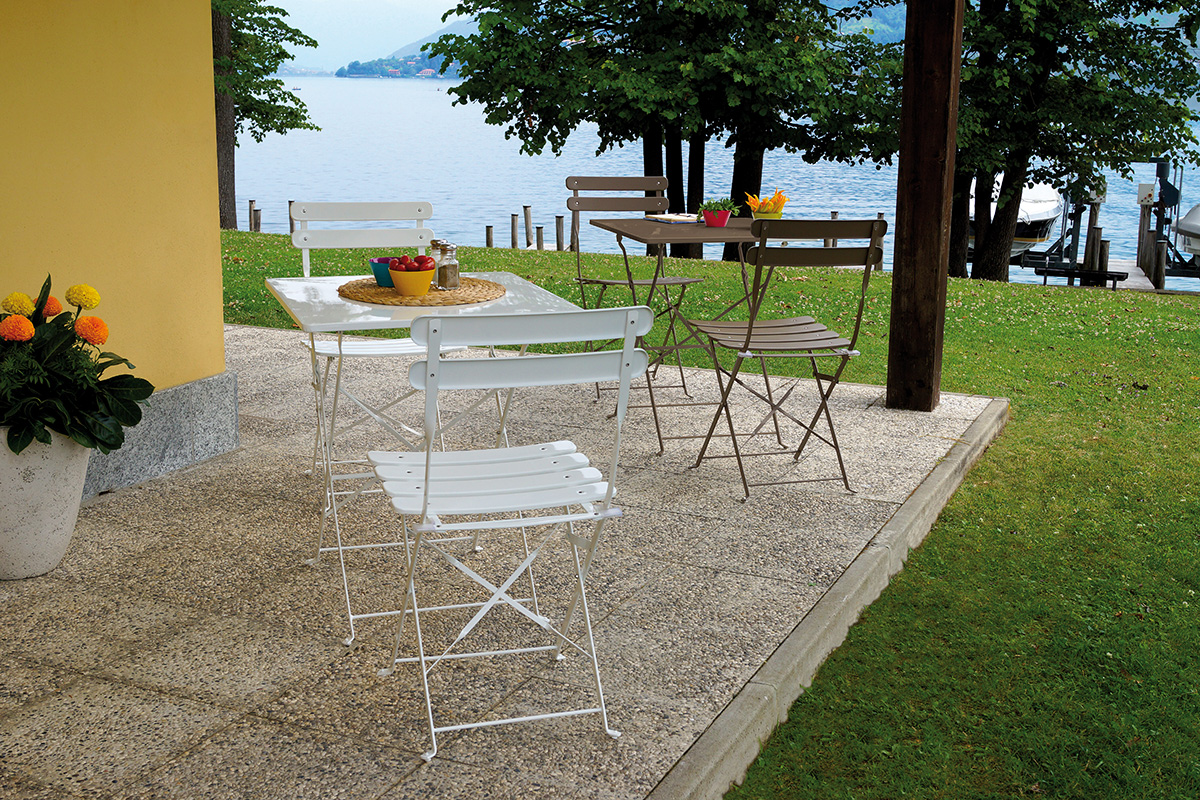 Set bistro tortora pieghevole greenwood mobili da for Arredo giardino dwg