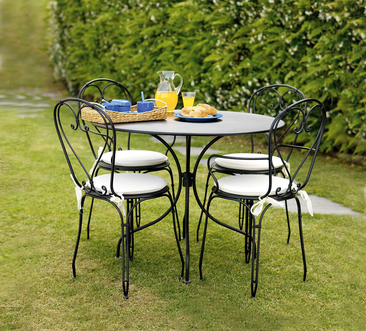 Ambientazione ttf52chf03chf04cs14 greenwood mobili da for Tavoli da giardino in ferro ikea