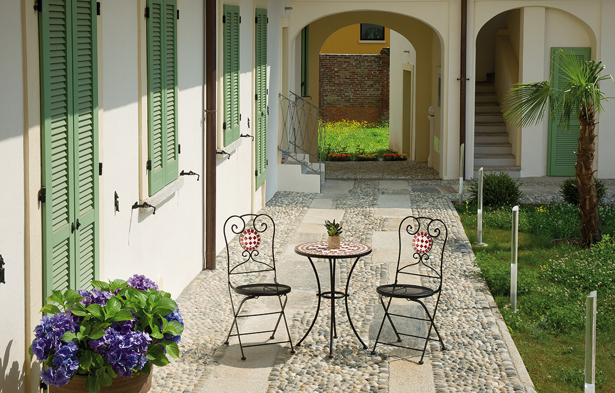 Ambientazione ttm11chm02 greenwood mobili da giardino for Ambientazioni salotti