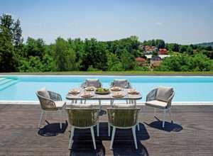 Arredamento Con Corda : Alluminio con corda greenwood u2013 mobili da giardino