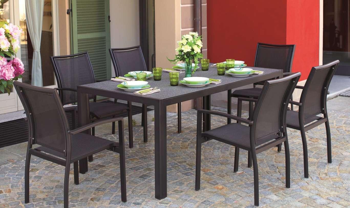 Tavolo terracina 180x90 cm greenwood mobili da giardino for Tavolo giardino colorato