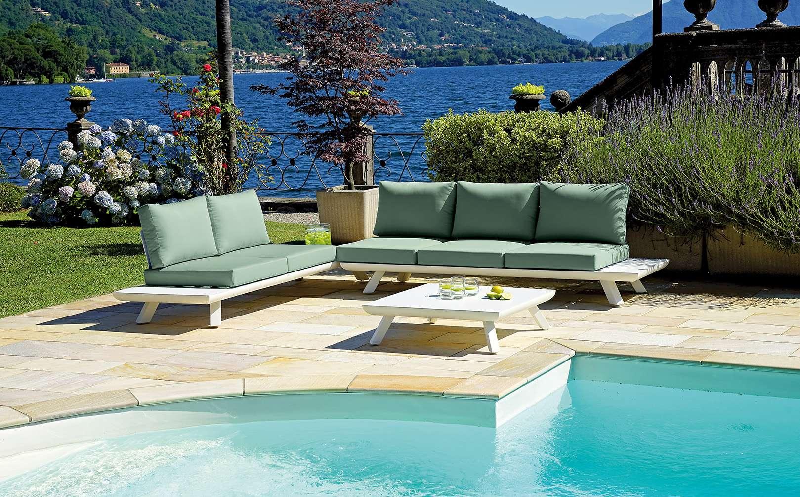 Ambientazione set25 greenwood mobili da giardino for Ambientazioni salotti