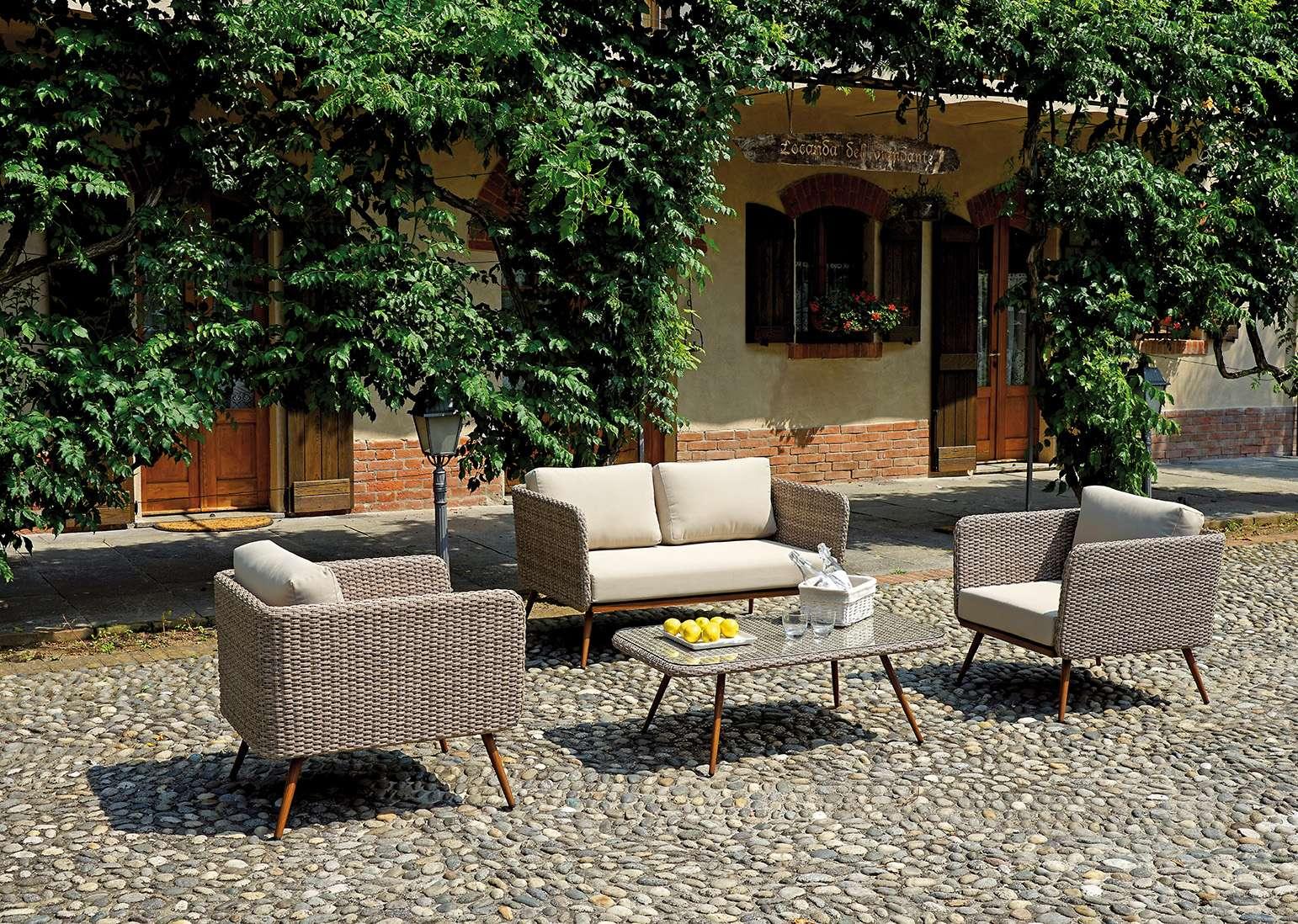 Coffee set salamanca greenwood mobili da giardino for Ambientazioni salotti