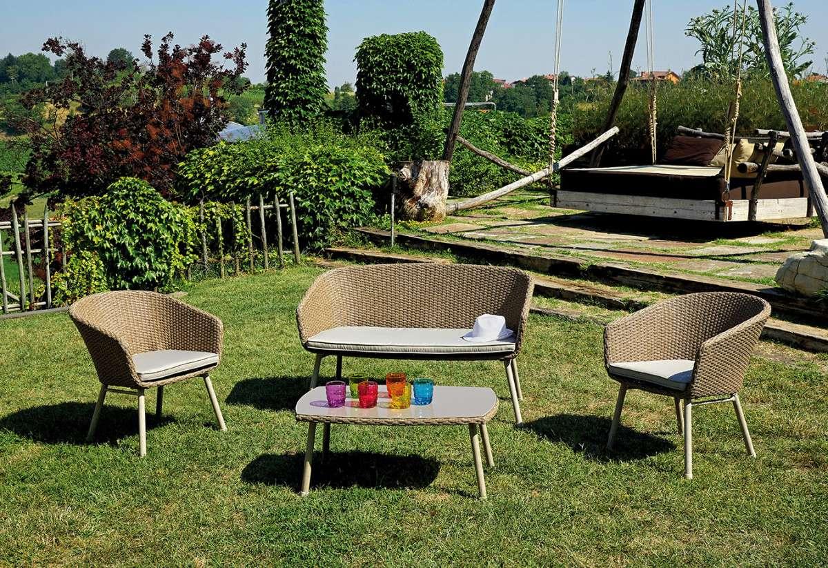 Ambientazione set64 greenwood mobili da giardino for Ambientazioni salotti