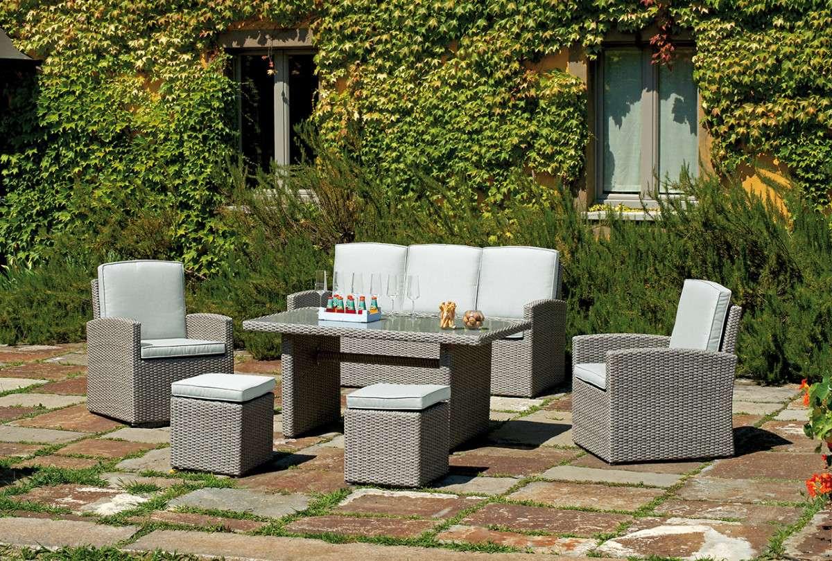 Ambientazione set66 greenwood mobili da giardino for Ambientazioni salotti