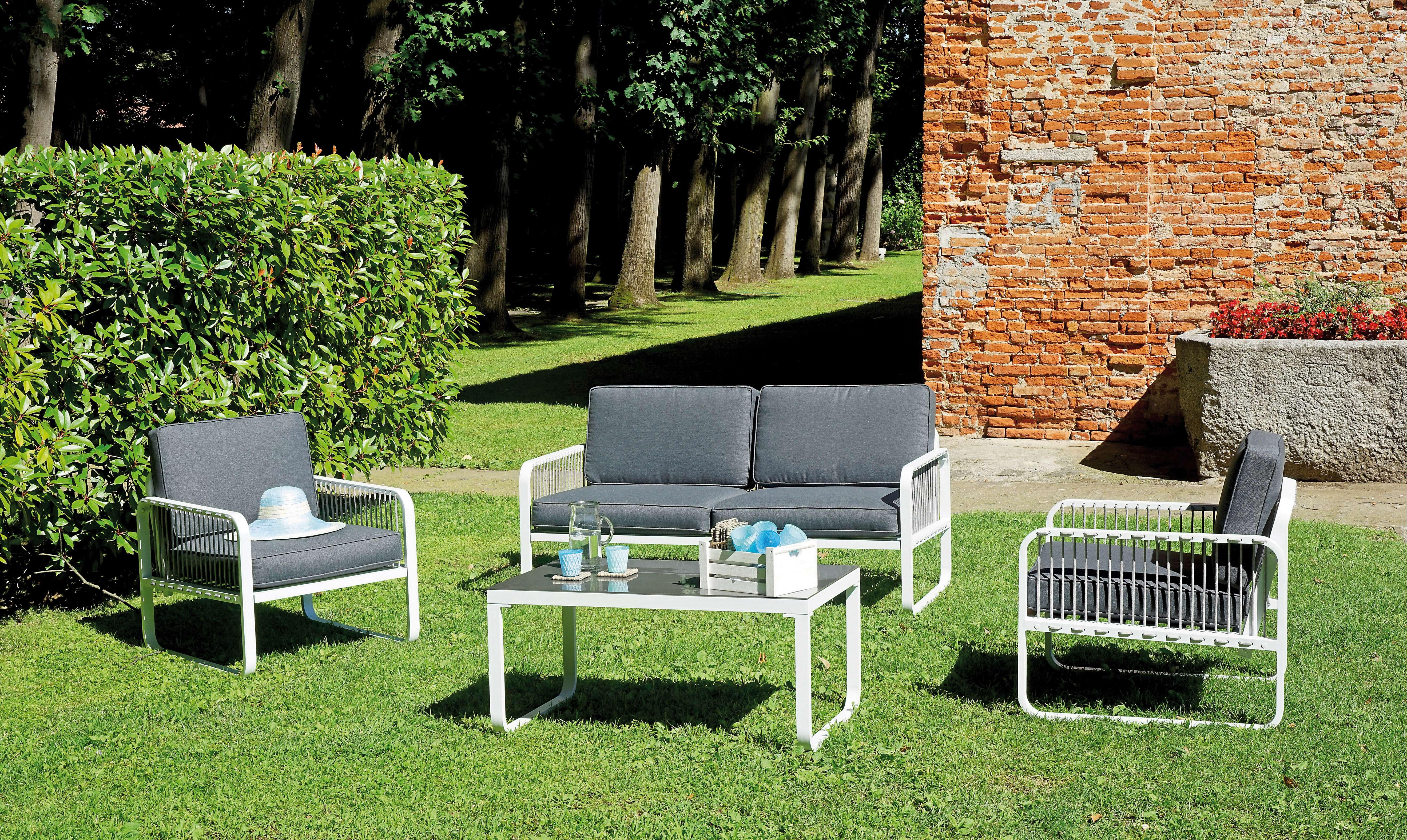 Set san fruttuoso greenwood mobili da giardino for Set mobili da giardino