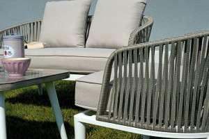 Arredo Da Giardino In Alluminio.Alluminio Con Corda Greenwood Mobili Da Giardino